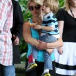 Britney Spears junto a sus hijos