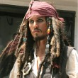 Johnny Depp como Jack Sparrow.