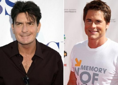 Charlie Sheen, Barack Obama - Rob Lowe suena con fuerza para reemplazar a Charlie Sheen en &quot;Dos Hombres y Medio&quot;